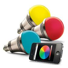 iphone controlled lighting. IPhone/Android Controlled Lighting System Using Your Smartphone Or Tablet, You Can Remotely Activate Iphone