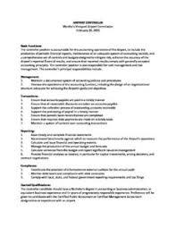 Job Profile Of Document Controller Airport Controller Job Description Marthas Vineyard Airport