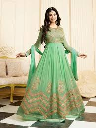 islamic nikah dresses online uk green islamic anarkali shalvar suit