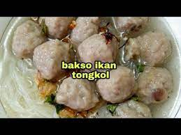 Lengkap dari bumbu resep bakso tahu ikan spesial yang kamu butuhkan hingga, cara membuat resep baso tahu ikan gurih lezat, yang praktis enak itu! Resep Bakso Ikan Tongkol Bakso Ikan Dan Cara Pembuatan Bakso Ikan Tongkol Youtube