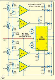 stepper motor wiring diagram tech search color fig 1 circuit of solar tracking system