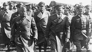 world war ii fast facts cnn italian dictator benito mussolini left hitler center and other leading nazis photos world war ii