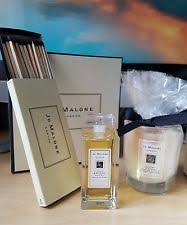 jo malone lime basil mandarin bath oil orange blossom candle matches gift set