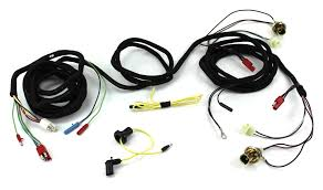 tail light wiring harness with sockets 1970 alloy metal products