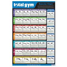 Bowflex Ultimate Exercise Wall Chart 77 Prototypic Total Gym Chart