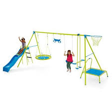 Kmart Size Chart Juniors 7 Station Swing Set Kmart Outdoor Toys For Kids Metal