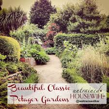 Small Picture Potager Gardens for Effortless Low Maintenance Year Round Garden Color