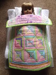 Doll Quilts: You Practice, They Play! & log cabin doll quilt Adamdwight.com