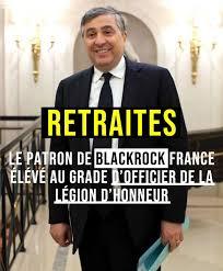 """Résultat de recherche d'images pour """"La patron France de BlackRock à l'Elysée pour légion d'honneur IMAGES PHOTOS"""""""