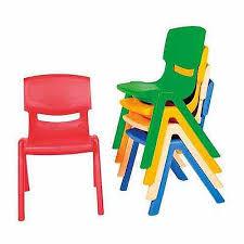 kite easy stack plastic chair 35cm