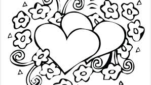 Cute Heart Coloring Pages Printable Cute Coloring Pages Best Cute