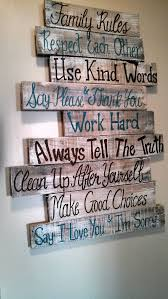 house family rules wood pallet sign by southerncutedesigns on etsy more on house rules wooden wall art with house family rules wood pallet sign by southerncutedesigns on etsy