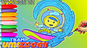 Team Umizoomi Coloring Page For Kids
