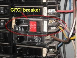 home inspectors electrical systems of older homes gfci breaker home inspectors electrical systems