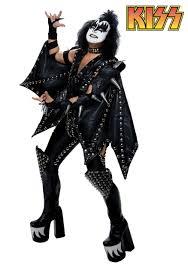 Authentic Deluxe KISS Demon Costume