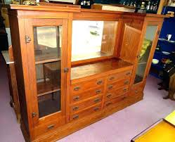 Oak Bar Cabinet Back Cabinets Remarkable Best Images  About Antique Barber On Modern For Sale Bar Cabinets For Sale L0
