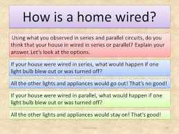 house wiring series or parallel the wiring diagram house wiring series or parallel zen diagram house wiring