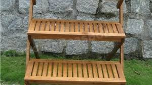 outdoor wooden plant stands wood stand 3 tier step style only tiered pertaining to outdoor wooden plant stands renovation