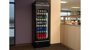 Bud Light Vending Machine Gorgeous AnheuserBusch Office BudE Fridge Preview PCMag