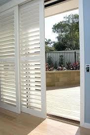 wood blinds for sliding door image decorating ideas in sliding glass door sliding patio doors and