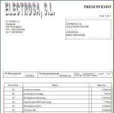 Formato Presupuesto De Ventas Rome Fontanacountryinn Com