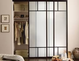 sliding glass closet doors frosted