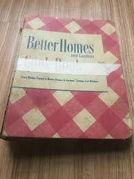 details about vintage 1949 better homes and gardens cookbook