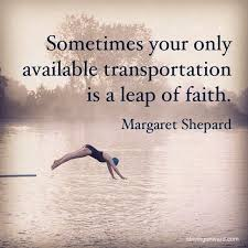 Leap Of Faith Quotes Delectable 48 Best Faith Quotes Pelfusion