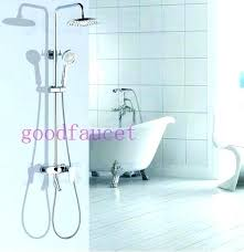bathtub shower attachment tub faucet shower adapter tub faucet shower attachment excellent luxury modern shower set