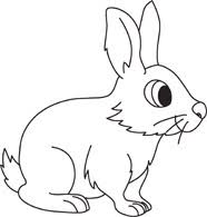 Clipart Rabbit Outline Graphics Illustrations Free Download On