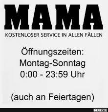 Mama Kostenloser Service In Allen Fällen Lustige Bilder