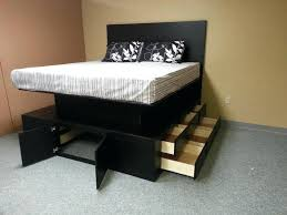 platform bed with drawers plans. Bed With Drawers Painting Of Fascinating Beds For Super  Convenient Sleeping Space King . Platform Plans