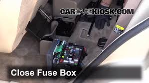 interior fuse box location buick rainier buick interior fuse box location 2004 2007 buick rainier 2004 buick rainier cxl 4 2l 6 cyl