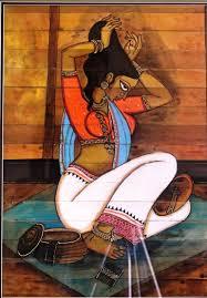 saatchi art artist suneil nayak painting indian folk art art