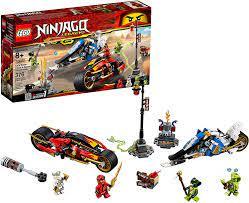Nơi bán Đồ chơi lắp ráp Lego Ninjago 70667 - Siêu Xe Lửa Của Kai và Xe Băng  của Zane giá rẻ nhất tháng 06/2021