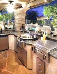 bar height kitchen cabinets outdoor kitchen bar barbecue island outdoor kitchen cabinets for kits and