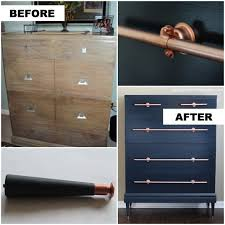 copper knobs and pulls. low cost diy drawer pulls, knobs and handles you can easily make copper pulls