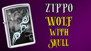 <b>Зажигалка Zippo</b> 28872 <b>Wolf</b> with Skull . Видео обзор - YouTube