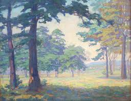 """Item #AT-0289- """"New Jersey Summer"""" by Ida Wells Stroud (1869 - 1944)"""