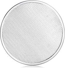 Dl Foodservice Design New Star Foodservice 50677 Seamless Aluminum Pizza Screen Commercial Grade 12 Inch