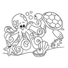 Ocean Coloring Pages For Kindergarten Chronicles Network