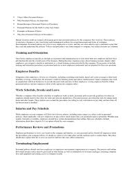 employment reviews company policies docshare tips