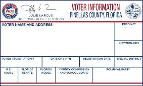voter information card