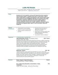 Resume Format For School – Eukutak