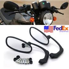 2pcs motorcycle black mirror scooter e bike rearview mirrors electrombile back side convex 10mm carbon fiber