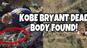 KOBE BRYANT AND GIGI BRYANT DEAD BODY ...