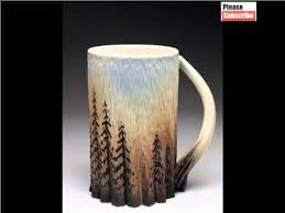 Popular Creative Ceramic Mug Ideas | Lovely Picture Set Of Ceramic Arts &  Decoration - YouTube