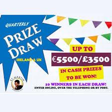 Prize Draw Tickets Prize Draw Cash Prizes To Be Won Each Quarter St Martin Apostolate
