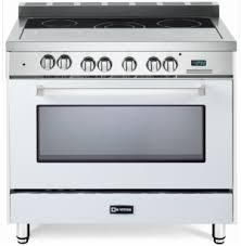 white electric range. The Verona 36\u201d All-Electric Range In True White. White Electric Range C
