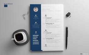 Resume Design Templates Simple Free Resume Design Template With Cover Letter In PSD AI DOC